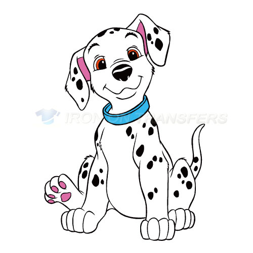 101 Dalmatians Iron-on Stickers (Heat Transfers)NO.632