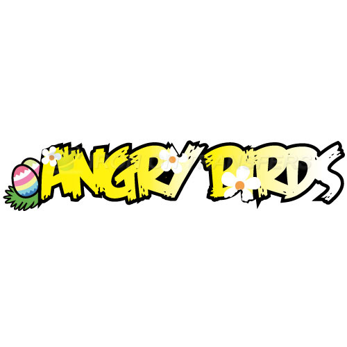 Angry Birds Iron-on Stickers (Heat Transfers)NO.1285