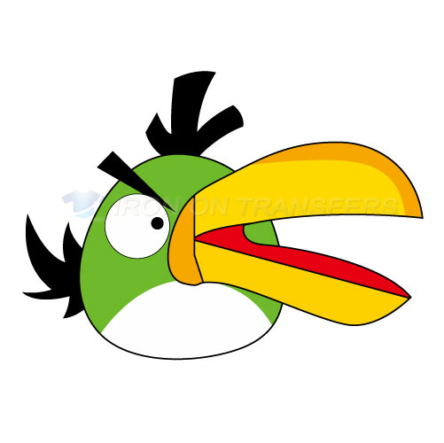 Angry Birds Iron-on Stickers (Heat Transfers)NO.1287
