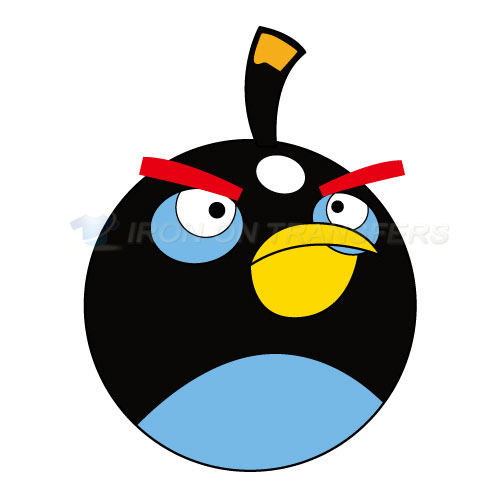 Angry Birds Iron-on Stickers (Heat Transfers)NO.1291