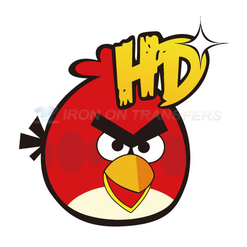 Angry Birds Iron-on Stickers (Heat Transfers)NO.1299