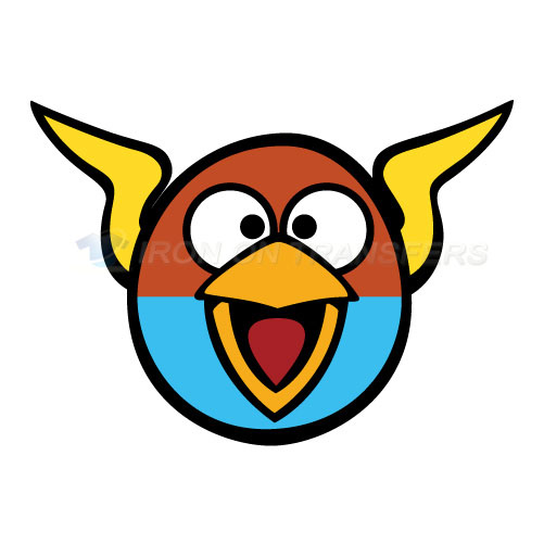 Angry Birds Iron-on Stickers (Heat Transfers)NO.1308
