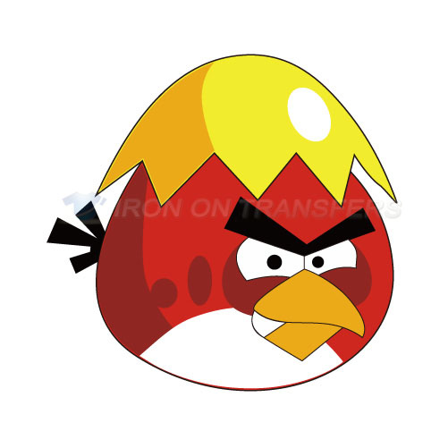 Angry Birds Iron-on Stickers (Heat Transfers)NO.1309