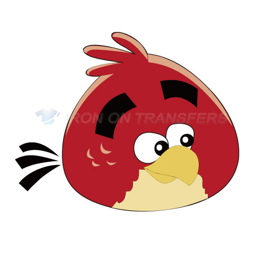 Angry Birds Iron-on Stickers (Heat Transfers)NO.1311