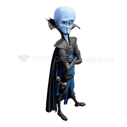 Megamind Iron-on Stickers (Heat Transfers)NO.3384