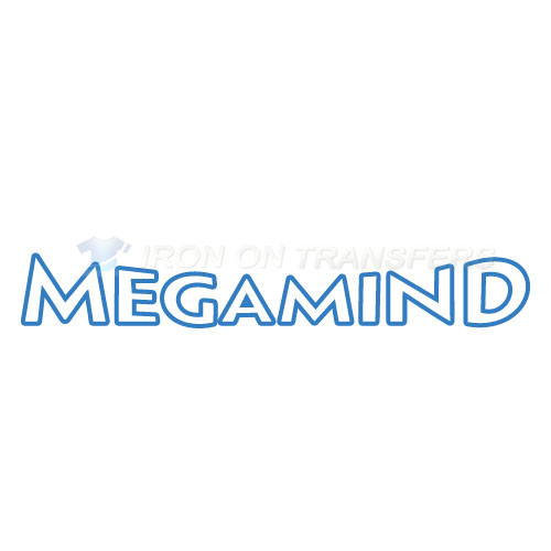 Megamind Iron-on Stickers (Heat Transfers)NO.3394