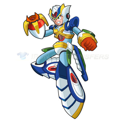 Rockman Iron-on Stickers (Heat Transfers)NO.5245