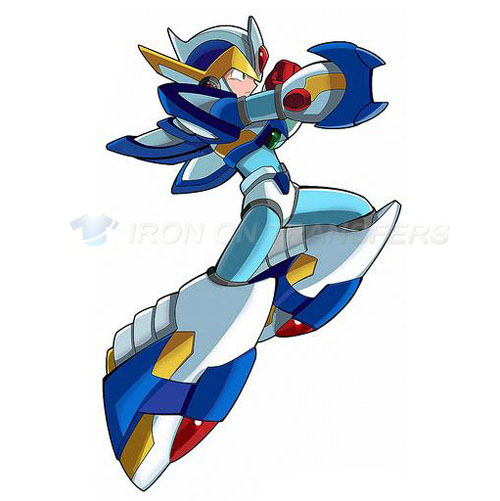 Rockman Iron-on Stickers (Heat Transfers)NO.5247