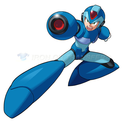 Rockman Iron-on Stickers (Heat Transfers)NO.5249