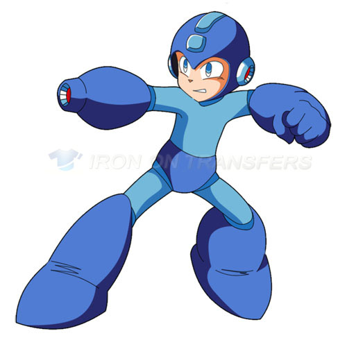 Rockman Iron-on Stickers (Heat Transfers)NO.5250