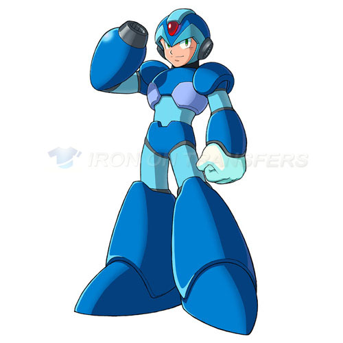 Rockman Iron-on Stickers (Heat Transfers)NO.5255