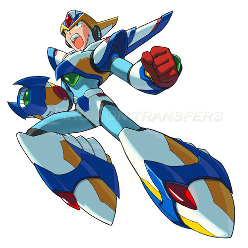Rockman Iron-on Stickers (Heat Transfers)NO.5260
