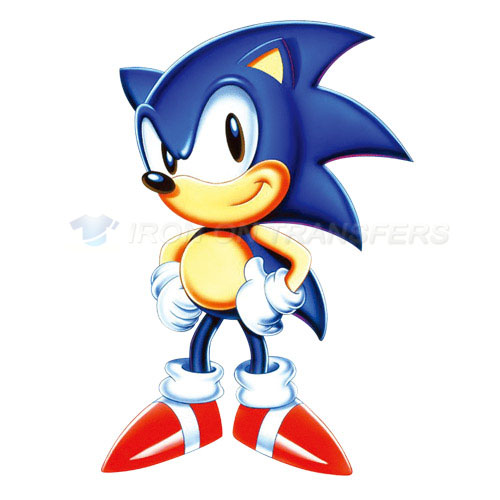 Sonic the Hedgehog Iron-on Stickers (Heat Transfers)NO.5320