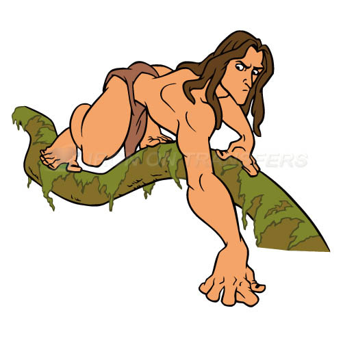 Tarzan Iron-on Stickers (Heat Transfers)NO.3428