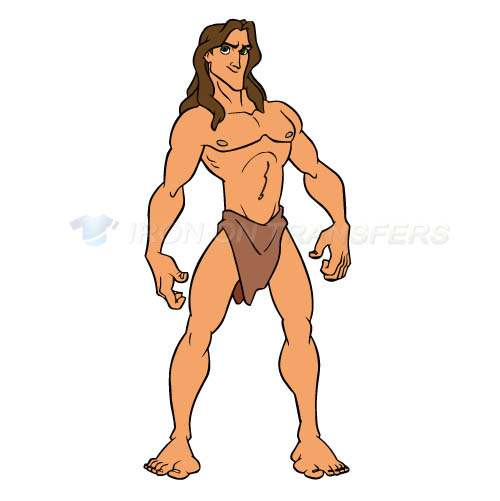 Tarzan Iron-on Stickers (Heat Transfers)NO.3430
