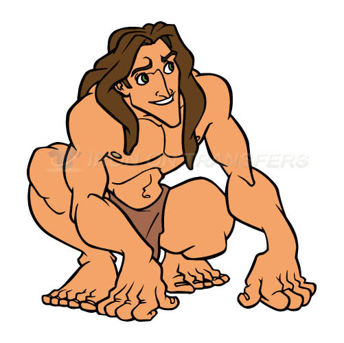Tarzan Iron-on Stickers (Heat Transfers)NO.3433