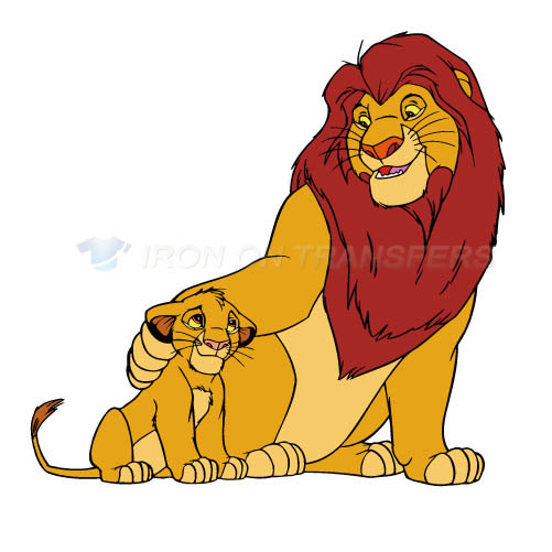 The Lion King Iron-on Stickers (Heat Transfers)NO.941