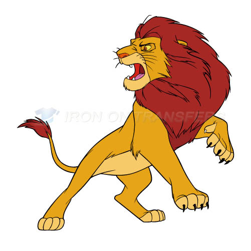 The Lion King Iron-on Stickers (Heat Transfers)NO.942