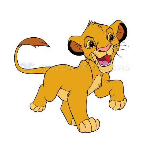 The Lion King Iron-on Stickers (Heat Transfers)NO.944