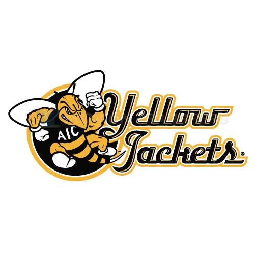 AIC Yellow Jackets 2009-Pres Alternate Logo3 Iron-on Transfers (Heat Transfers) N3688