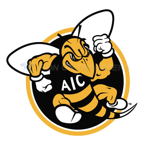 AIC Yellow Jackets 2009-Pres Alternate Logo6 Iron-on Transfers (Heat Transfers) N3691