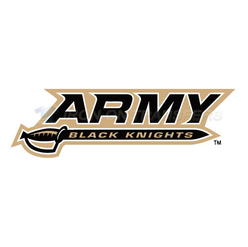Army Black Knights 2000 Pres Wordmark Iron-on Stickers (Heat Transfers)NO.3757