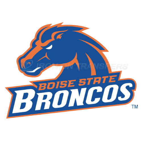 Boise State Broncos Iron-on Stickers (Heat Transfers)NO.4009