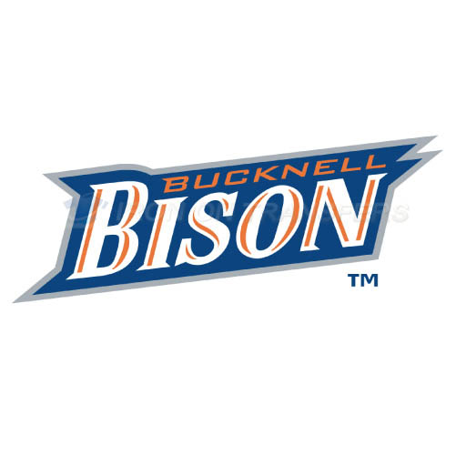 Bucknell Bison Iron-on Stickers (Heat Transfers)NO.4036