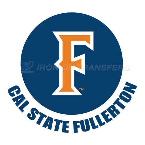 Cal State Fullerton Titans Iron-on Stickers (Heat Transfers)NO.4067