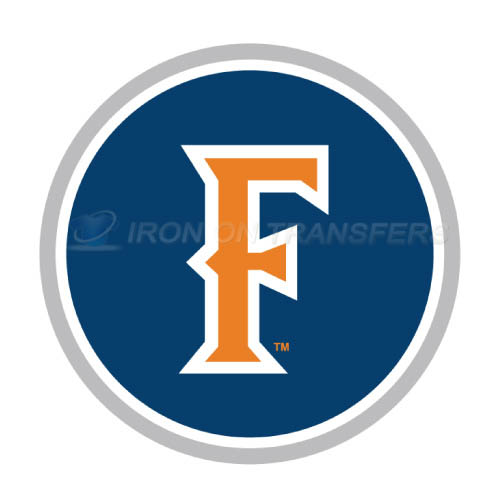 Cal State Fullerton Titans Iron-on Stickers (Heat Transfers)NO.4068