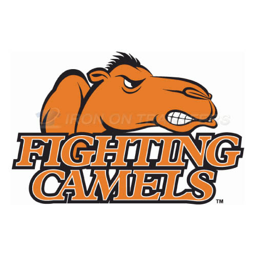 Campbell Fighting Camels Iron-on Stickers (Heat Transfers)NO.4086