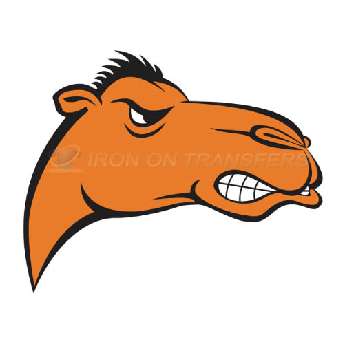 Campbell Fighting Camels Iron-on Stickers (Heat Transfers)NO.4087