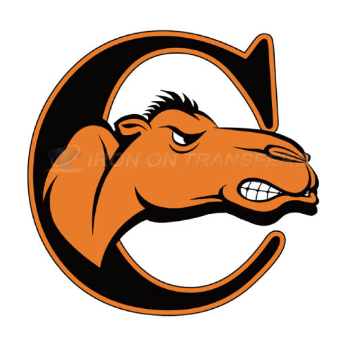 Campbell Fighting Camels Iron-on Stickers (Heat Transfers)NO.4088