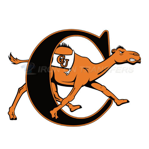 Campbell Fighting Camels Iron-on Stickers (Heat Transfers)NO.4090