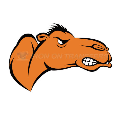 Campbell Fighting Camels Iron-on Stickers (Heat Transfers)NO.4093