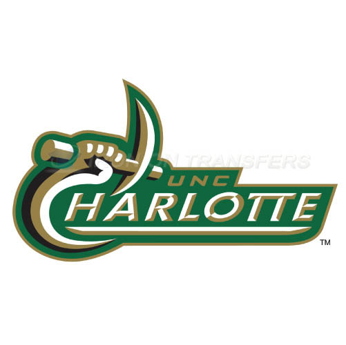 Charlotte 49ers Iron-on Stickers (Heat Transfers)NO.4132