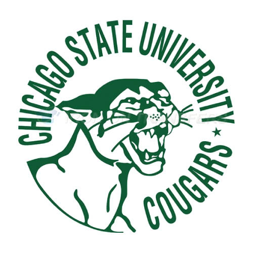 Chicago State Cougars Iron-on Stickers (Heat Transfers)NO.4139