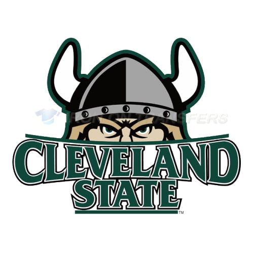 Cleveland State Vikings Iron-on Stickers (Heat Transfers)NO.4153