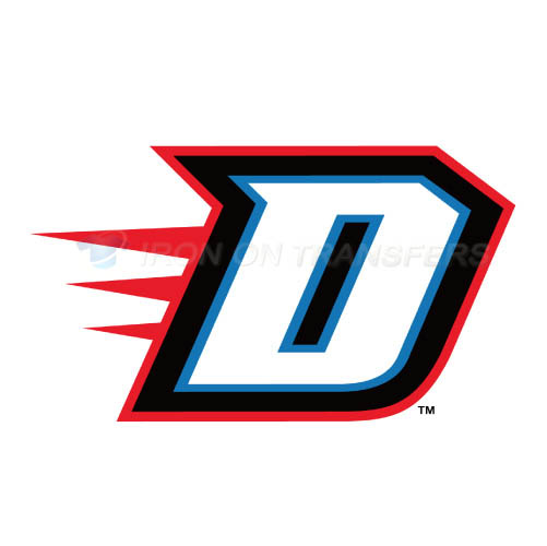 DePaul Blue Demons Iron-on Stickers (Heat Transfers)NO.4260