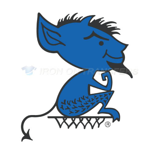 DePaul Blue Demons Iron-on Stickers (Heat Transfers)NO.4261