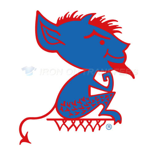 DePaul Blue Demons Iron-on Stickers (Heat Transfers)NO.4263
