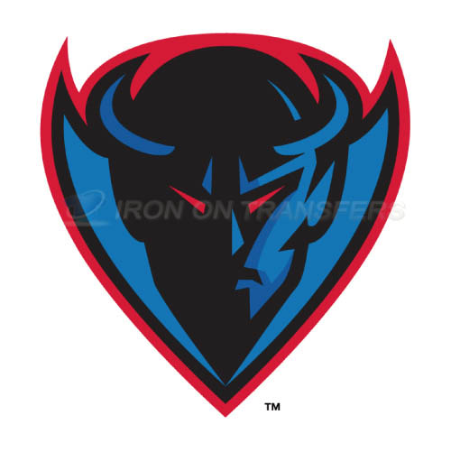 DePaul Blue Demons Iron-on Stickers (Heat Transfers)NO.4264