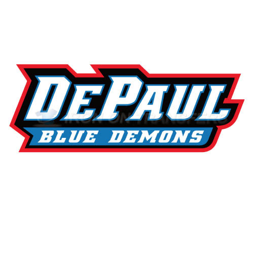 DePaul Blue Demons Iron-on Stickers (Heat Transfers)NO.4266