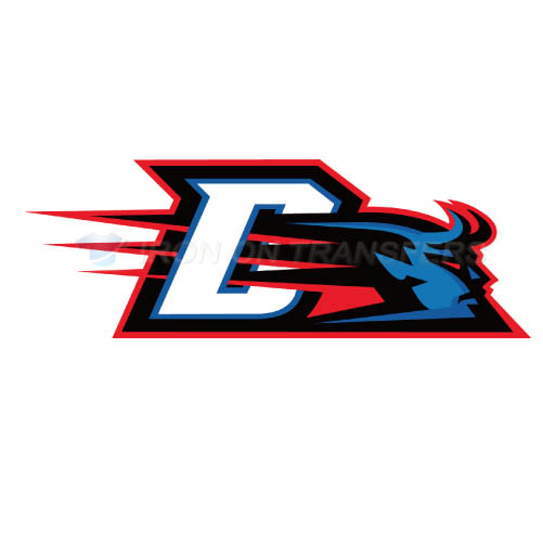 DePaul Blue Demons Iron-on Stickers (Heat Transfers)NO.4267