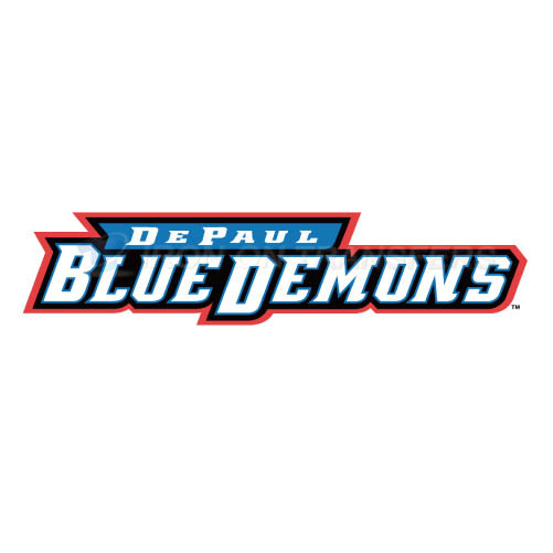 DePaul Blue Demons Iron-on Stickers (Heat Transfers)NO.4272