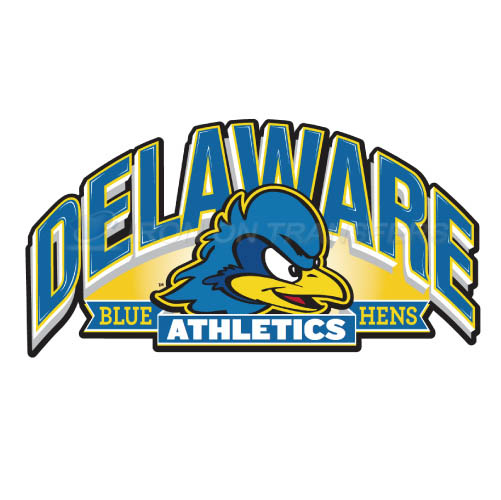 Delaware Blue Hens Iron-on Stickers (Heat Transfers)NO.4229