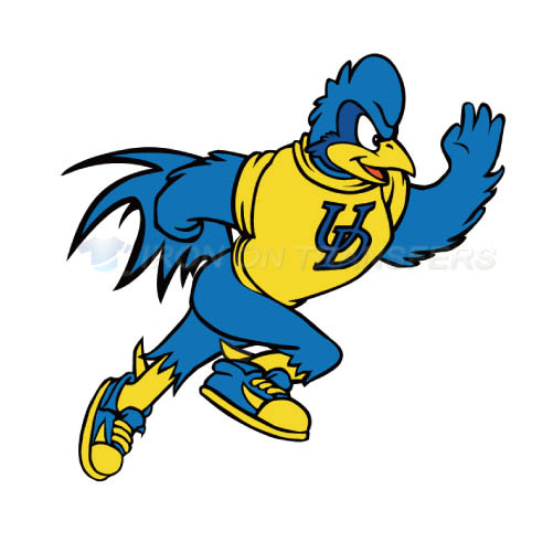 Delaware Blue Hens Iron-on Stickers (Heat Transfers)NO.4235