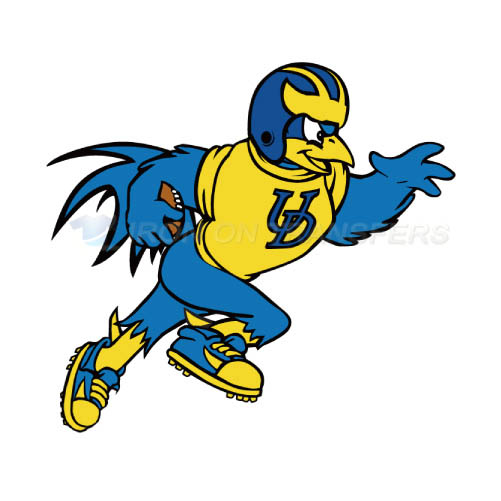 Delaware Blue Hens Iron-on Stickers (Heat Transfers)NO.4238