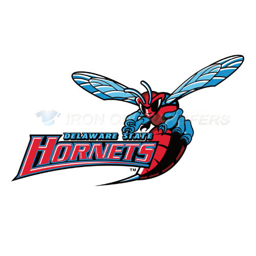 Delaware State Hornets Iron-on Stickers (Heat Transfers)NO.4250
