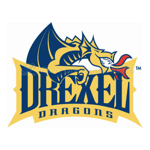 Drexel Dragons Iron-on Stickers (Heat Transfers)NO.4278